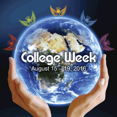 College Week, Aug. 15 – 19, 2016