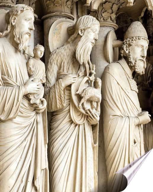 Detail from Chartres Cathedral