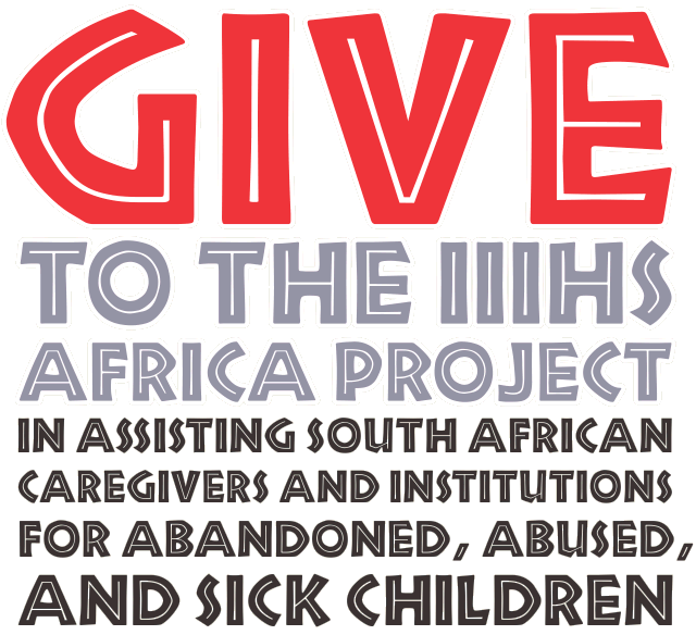 Give to the IIIHS Africa Project